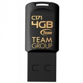 USB флеш накопитель Team 4GB C171 Black USB 2.0 (TC1714GB01)