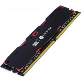 Модуль памяти для компьютера DDR4 8GB 2400 MHz Iridium Black GOODRAM (IR-2400D464L15S/8G)