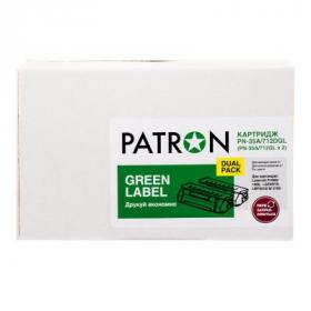 Картридж PATRON CANON 737 GREEN Label (DUAL PACK) (PN-737DGL)