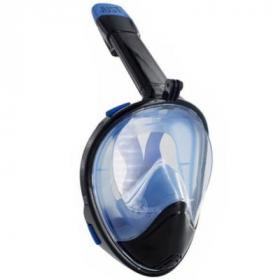 Маска для дайвинга JUST Breath Pro Diving Mask L/XL Black/Blue (JBRP-LXL-BL)