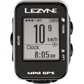 Велокомпьютер Lezyne MINI GPS серебристый 20 функций (4712805 984701)