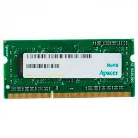 Модуль памяти для ноутбука SoDIMM DDR3 8GB 1600 MHZ Apacer (DS.08G2K.KAM)