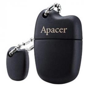 USB флеш накопитель Apacer 16GB AH118 Black USB 2.0 (AP16GAH118B-1)