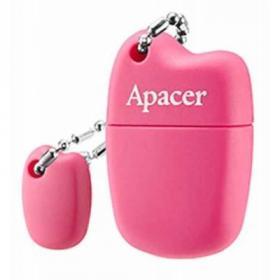 USB флеш накопитель Apacer 16GB AH118 Pink USB 2.0 (AP16GAH118P-1)