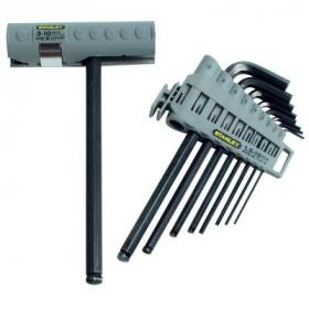 Набор инструментов Stanley HEX GRIP ключей шестигранных, 9шт. (0-89-904)