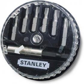 Набор бит Stanley из 6 вставок и магнит. держателя (1-68-739) (1-68-739)