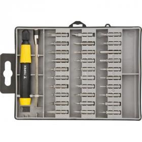 Набор инструментов Topex насадки прецизионные с держателем, (под отвертку) 32 шт. * 1 (39D555)