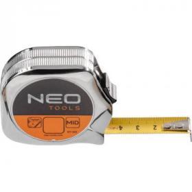 Рулетка NEO стальная лента 5 м x 19 мм (67-145)