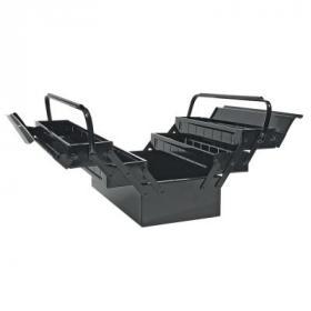 Ящик для инструментов Topex металлический, 40 x 20 x 21 см (79R100)