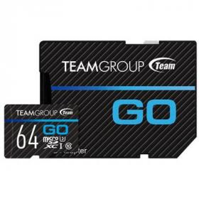 Карта памяти Team 64GB microSD Class 10 UHS-I/U3 Go (TGUSDX64GU303)