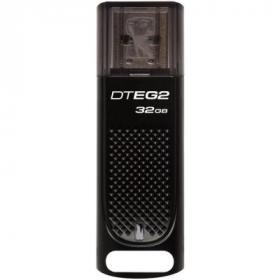 USB флеш накопитель Kingston 32GB DataTraveler Elite G2 Metal Black USB 3.1 (DTEG2/32GB)