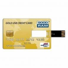 USB флеш накопитель GOODRAM 8Gb Gold Credit Card (PD8GH2GRCCPR9)