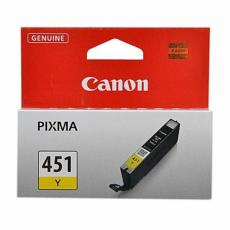 Картридж Canon CLI-451 Yellow PIXMA MG5440/ MG6340 (6526B001)