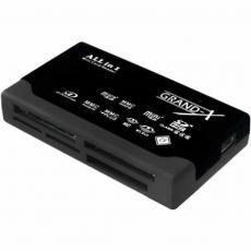 Считыватель флеш-карт Grand-X multi All-in-One 64Gb to 2Tb SDXC (CRX05Black)