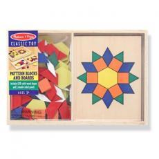 Развивающая игрушка Melissa&Doug Крупноформатная мозаика (MD29)