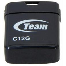 USB флеш накопитель Team 16GB C12G Black USB 2.0 (TC12G16GB01)