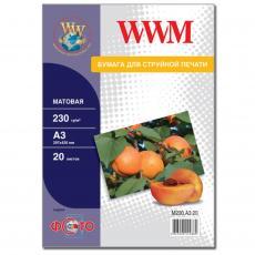 Бумага WWM A3 (M230.A3.20)