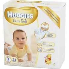 Подгузник Huggies Elite Soft 3 Small 21 шт (5029053545271)