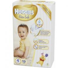 Подгузник Huggies Elite Soft 4 Small 19 шт (5029053545288)
