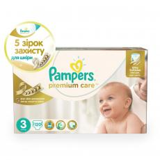 Подгузник Pampers Premium Care Midi (5-9 кг), 120шт (4015400465461)