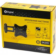 Кронштейн X-DIGITAL STEEL SA245 Black