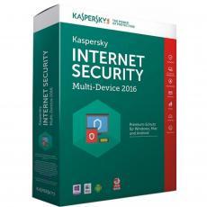 Программная продукция Kaspersky Internet Security 2016 Multi-Device 5+1 ПК 1 год Base Box (KL1941OBEFS16)