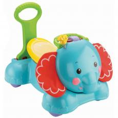 Ходунки Fisher-Price Слоник 3 в 1 серии Прыгай, шагай и езжай (CBN62)