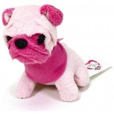 Мягкая игрушка Chi Chi Love Мопс с розовой мордочкой Мини-модница 10 см (589 0208-4)
