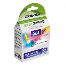 Картридж ColorWay для EPSON XP600/605/700 yellow (CW-EPT2634)