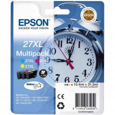 Картридж EPSON 27XL WF-7620 Bundle (C,M,Y) XL (C13T27154020/C13T27154022)
