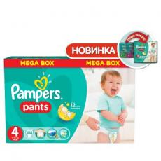 Подгузник Pampers Pants Maxi 9-14 кг, Мега 104 шт (4015400697534)