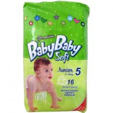 Подгузник BabyBaby Soft Premium Junior 5 (11-25 кг) 16 шт (8588004865532)