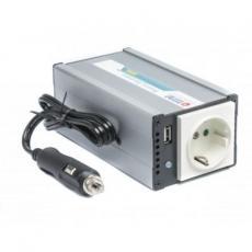 Адаптер автомобильный 12V/220V TITAN 12/24V 200W + USB (TP-200E5)