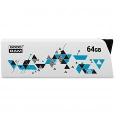 USB флеш накопитель GOODRAM 64GB Cl!ck White USB 2.0 (UCL2-0640W0R11)