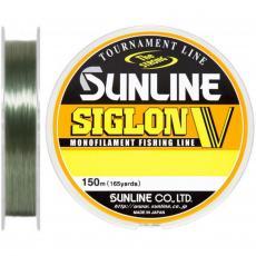 Леска Sunline Siglon V 150м #6/0.405мм 12кг (1658.04.13)