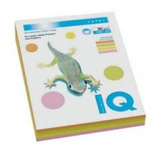 Бумага А4 IQ color, neon SET 5х50 sheets Mondi (A4.80.IQ.RB04.200)