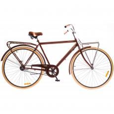 """Велосипед Дорожник 28"""" COMFORT MALE 14G Velosteel St коричневый 2016 (OPS-D-28-034-1)"""