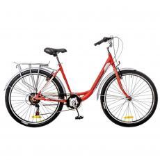 "Велосипед Optimabikes 26"" VISION 14G Vbr Al красно-белый 2016 (OPS-OP-26-068-1)"