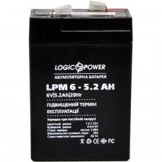 Батарея к ИБП LogicPower LPM 6В 5.2 Ач (4158)