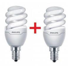 Лампочка PHILIPS E14 8W 220-240V WW Tornado T2 mini (1+1) (8717943885299)