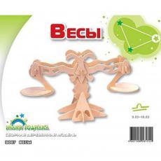 Сборная модель Мир деревянных игрушек Весы (З007)