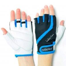 Перчатки для фитнеса Stein Betty GLL-2311blue (L) - черно-голубые (GLL-2311blue/L)
