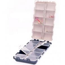 Коробка рыболова Aquatech 2420 двойная 20яч. с крышк (1697.00.24)