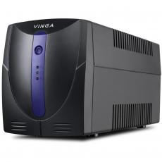Источник бесперебойного питания Vinga LED 600VA plastic case (VPE-600P)