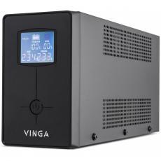 Источник бесперебойного питания Vinga LCD 600VA metal case (VPC-600M)
