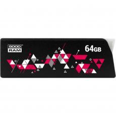 USB флеш накопитель GOODRAM 64GB UCL3 Click Black USB 3.0 (UCL3-0640K0R11)