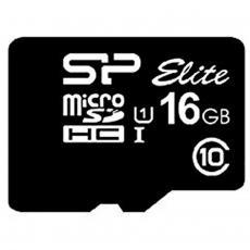 Карта памяти Silicon Power 16GB microSD class 10 UHS-I Elite (SP016GBSTHBU1V10)
