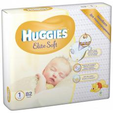 Подгузник Huggies Elite Soft 1 Mega (2-5 кг) 82 шт (5029053564890)