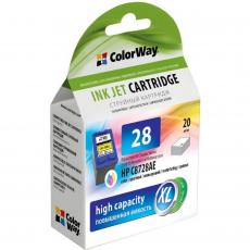 Картридж ColorWay HP №28XL color (C8728AE) ink level (CW-H28XL-I)