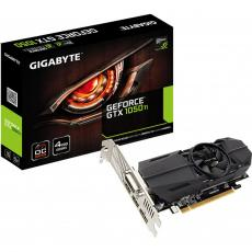 Видеокарта GIGABYTE GeForce GTX1050 Ti 4096Mb OC Low Profile (GV-N105TOC-4GL)